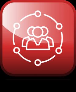 Icon, rot, Umriss, Personen, Gruppe, Gemeinden, Triple-A AG, Potenzial Gutachten