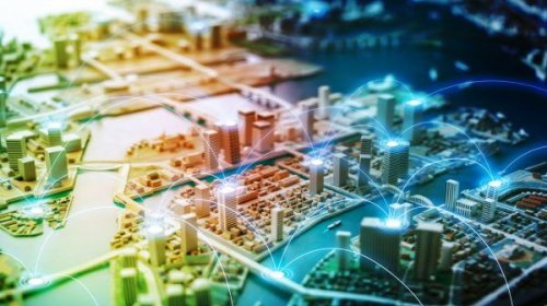 Modell einer Großstadt, Smart City, United Smart Cities, Triple-A AG